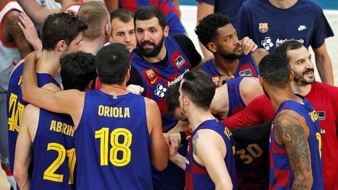 El Barça, a un partit del títol de la Lliga ACB