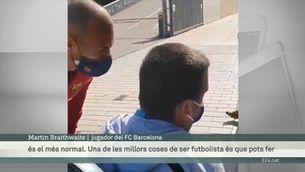 """Braithwaite: """"Podem guanyar la Supercopa. Som on volíem ser"""""""