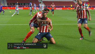 Resum de l'Atlètic de Madrid - Reial Societat (2-1)