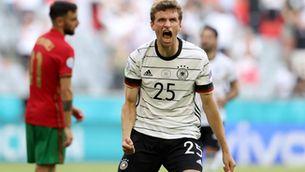 La millor versió d'Alemanya remunta el gol de Cristiano (2-4)