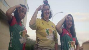 El clam de l'Handbol Berga contra el masclisme a l'esport femení