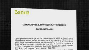 Rodrigo Rato abandona Bankia