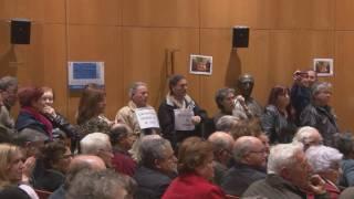 Imatge de:Afectats de la cooperativa de Cambrils protesten al Ple