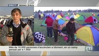 Imatge de:Decepció i moments de tensió entre els més de 10.000 refugiats atrapats a Idomeni