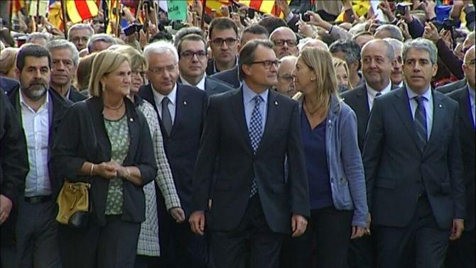 El jutge del 9-N decideix no incorporar l'informe dels fiscals catalans contra la querella
