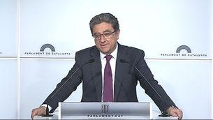 Enric Millo, portaveu del PP al Parlament