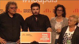 """ERC a En Comú Podem: """"Sou molt benvinguts a la República Catalana"""""""