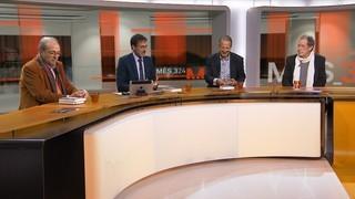 """Imatge de:Entrevista a Xavier Bru de Sala, Julià de Jòdar i Miquel de Palol, autors de """"Fot-li al procés"""""""