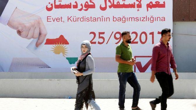 El Parlament de l'Iraq tomba el referèndum d'independència del Kurdistan del dia 25
