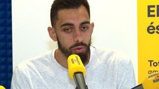 """Borja Iglesias sobre Rubi: """"Té un concepte de joc molt agraït per al jugador"""""""