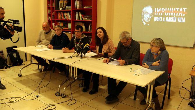 """Una quarantena d'entitats s'uneixen per portar als tribunals 90 """"crims d'estat"""" de la transició espanyola"""