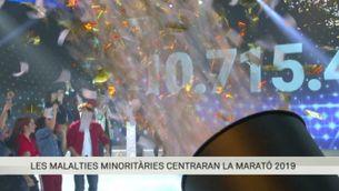 Les malalties minoritàries centraran La Marató 2019