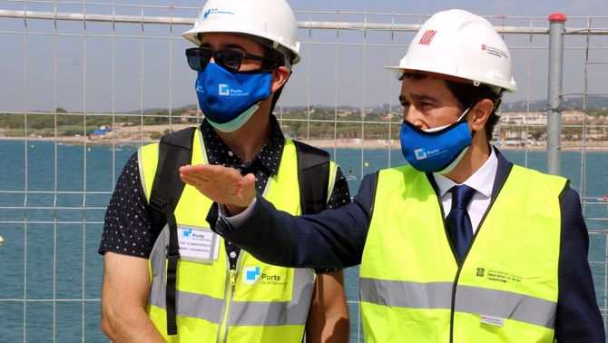 """Calvet diu als opositors que el projecte de l'Autòdrom de Terramar s'ha aprovat """"en temps i forma"""" i que es farà"""