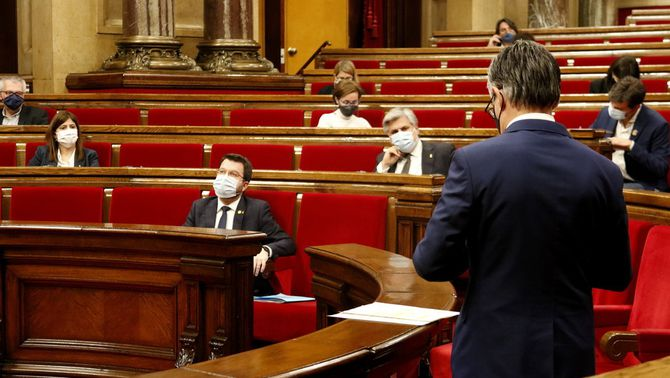 Crisi al govern: ERC i JxCat s'acusen de les filtracions del pla de desescalada