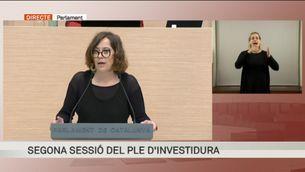 """Eulàlia Reguant (CUP-G): """"La renda bàsica universal no es toca"""""""
