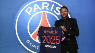 Neymar renova amb el PSG fins al 2025