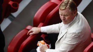 Ronald Koeman, espectador de luxe al Johan Cruyff Arena