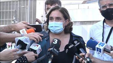"""colau-sobre-el-macrobotelló-amb-40.000-persones-a-la-plaça-espanya:-""""és-inacceptable"""""""