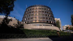 Imatge exterior del Tribunal Constitucional