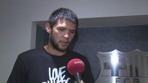 """Papanikolau: """"No podia passar aquesta oportunitat"""""""