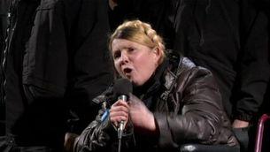 Maidan aclama Timoixenko