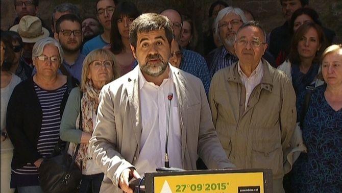 Jordi Sànchez, nou president de l'Assemblea Nacional Catalana
