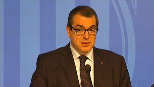 El conseller d'Interior, Jordi Jané