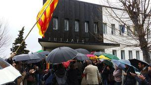 """L'alcaldessa de Berga no entra al jutjat a declarar per """"coherència amb el dret a desobeir"""""""