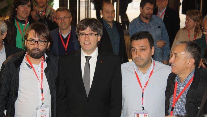 """Puigdemont se suma al front comú contra la """"norma injusta"""" de Montoro"""