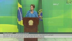 Rousseff no es rendeix