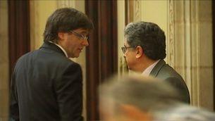 Puigdemont, escèptic amb la reunió de Rajoy
