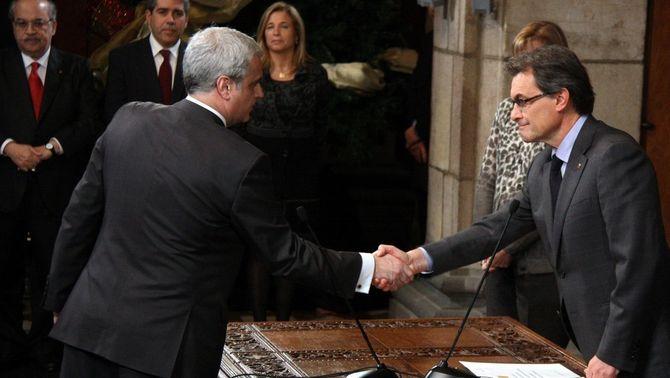 Fernández Díaz i Antifrau van planejar apartar Mas de la direcció de CDC per evitar l'acord amb ERC