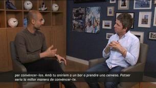 Dos mites cara a cara: Pep Guardiola i Noel Gallagher