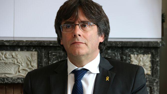 El Suprem diu al jutjat de Madrid que Puigdemont pot ser candidat
