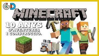 10 anys picant pedra, 10 anys de Minecraft