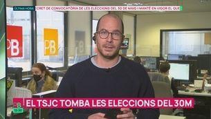 Planta baixa - El TSJC tomba les eleccions del 30M