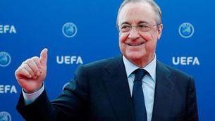 Florentino Pérez, proclamat president del Madrid