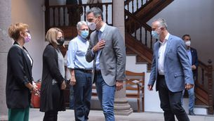 Sánchez ha fet les declaracions durant la seva visita a La Palma (Europa Press/Estefanía Briganty)