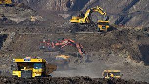 Mina de carbó a Indonèsia