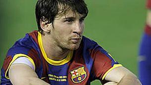 Messi no es vol perdre el proper partit de la Supercopa d'Europa. (Foto: EFE)