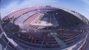 Així s'ha omplert el Camp Nou