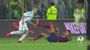 Gols Lechia, 2 - Barça, 2