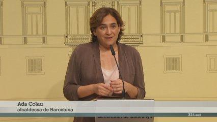 Declaracions d'Ada Colau sobre la unió del Trambaix i el Trambesòs