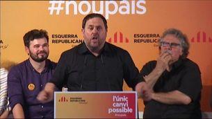 ERC celebra el seu acte central de campanya a Sabadell
