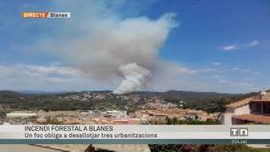 Incendi Forestal a Blanes