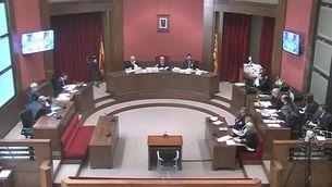 El president del tribunal fa callar Mas, Ortega i Rigau en el torn del fiscal