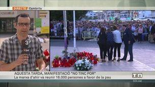 Telenotícies cap de setmana migdia - 26/08/2017