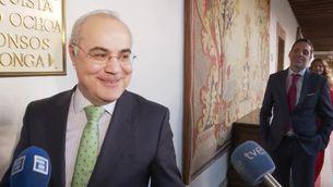El jutge Pablo Llarena, el 22 de febrer a Oviedo