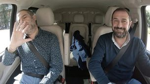 Al cotxe - Toni Clapés, Sergi Pàmies i Joan Miquel Oliver