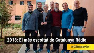 """Turull, Niño-Becerra, Puigdemont i l'humor de l'""""APM?"""", el més escoltat de Catalunya Ràdio el 2018"""